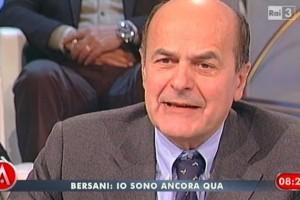 bersani agorà Berlusconi