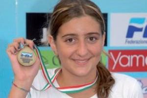 camilla capannolo nuoto campionessa italiana