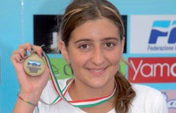 abruzzo notizie nuoto un aquilana campionessa italiana