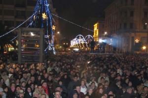 capodanno 2013 piazza salotto Pescara