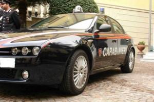 carabinieri Vasto auto rubata riscatto