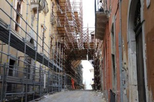 centri storici ricostruzione terremoto l'aquila