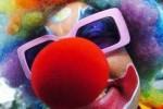 clown rapina Pescara