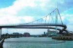draga ponte pescara urto sbattere chiuso