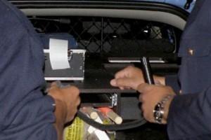 droga automobilisti test