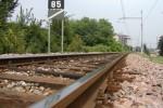 giulianova suicidio treno corsa ferrovia