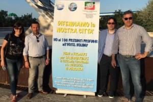 migranti protesta pescara sospiri