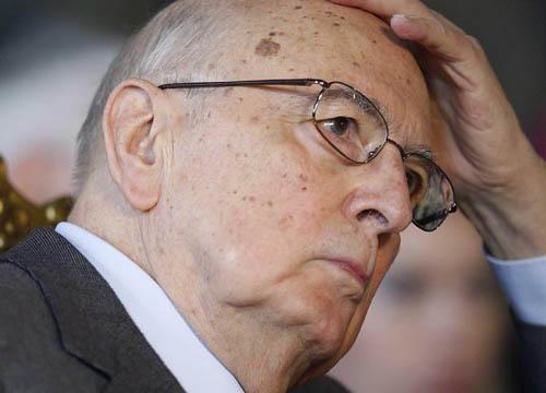 """Napolitano: """"Il mio mandato è alla fine"""""""
