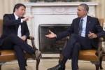 renzi Obama