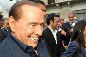 Monza, Silvio Berlusconi chiude la campagna elettorale Pdl per le amministrative
