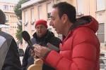 striscia la notizia provolone Pescara sindaco ascensore