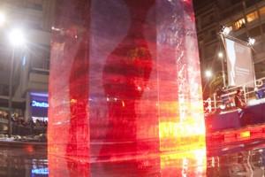 Silvano Pescara 14/12/08 Inaugurazione Huge Wine Glass