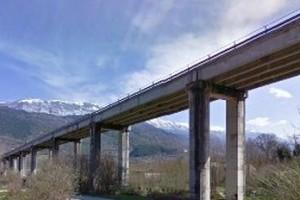 viadotto Corfinio Ponte Anas chiusura chiuso